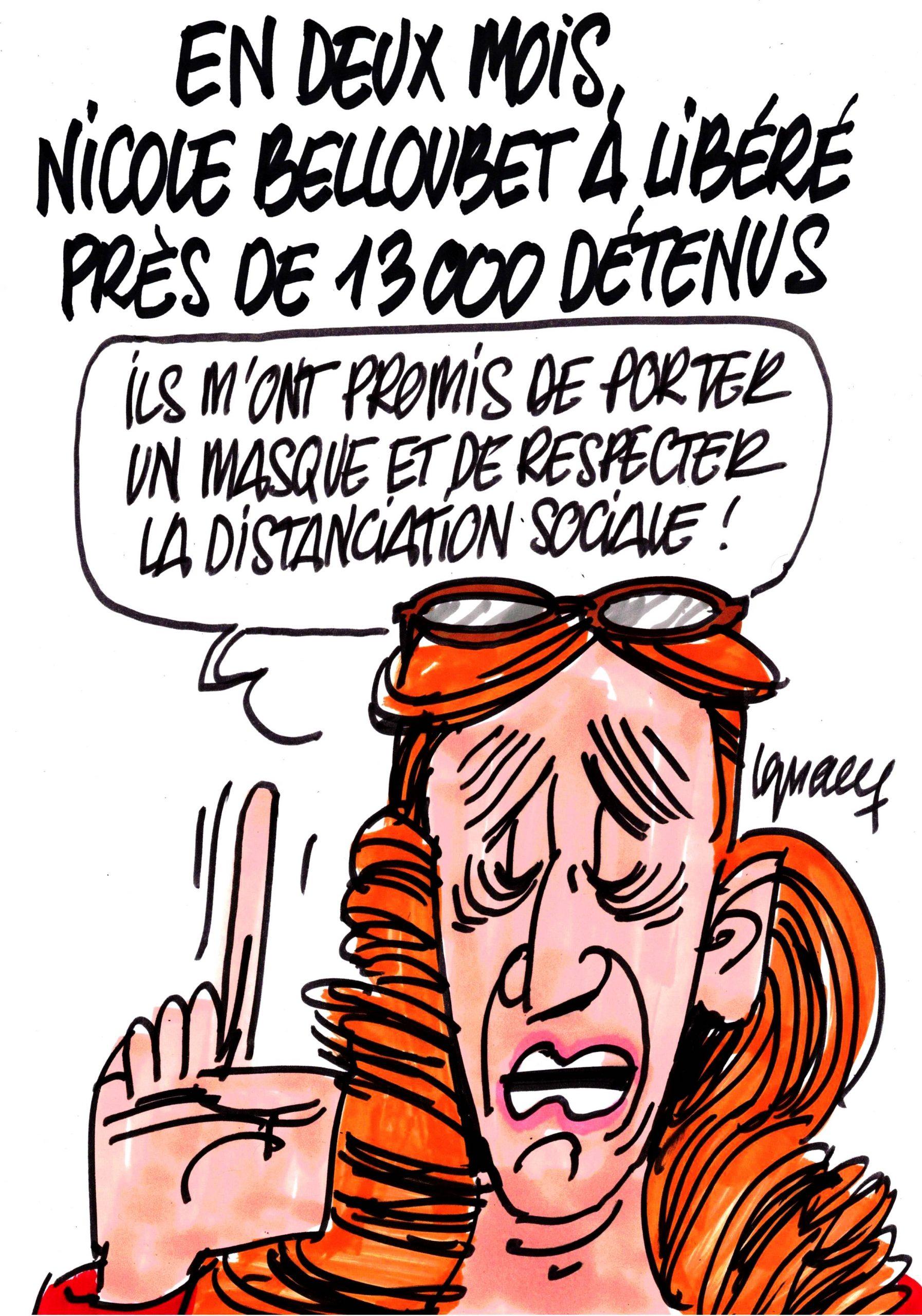 Ignace - Belloubet libère 13000 détenus