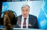 """Le secrétaire général de l'ONU appelle à une «gouvernance mondiale» qui soit «mordante» et prépare le """"Great Reset"""" de l'économie mondiale"""