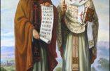 Mardi 7 juillet 2020 – Saints Cyrille et Méthode, Évêques et Confesseurs