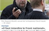 Dupond-Moretti sur le FN, Merah, DSK, Tron, Cahuzac, Balkany,…