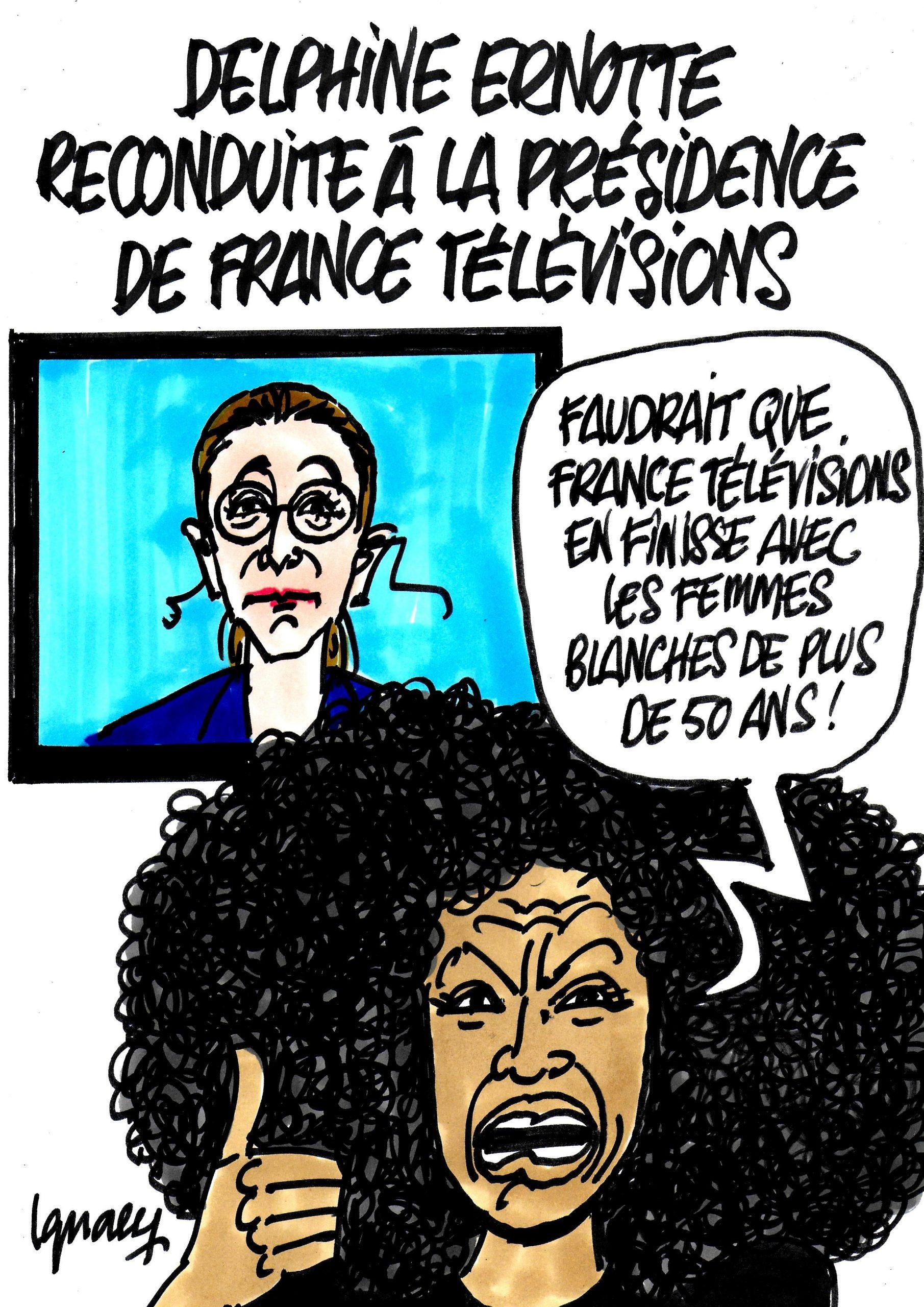 Ignace - Delphine Ernotte réélue à France Télévisions