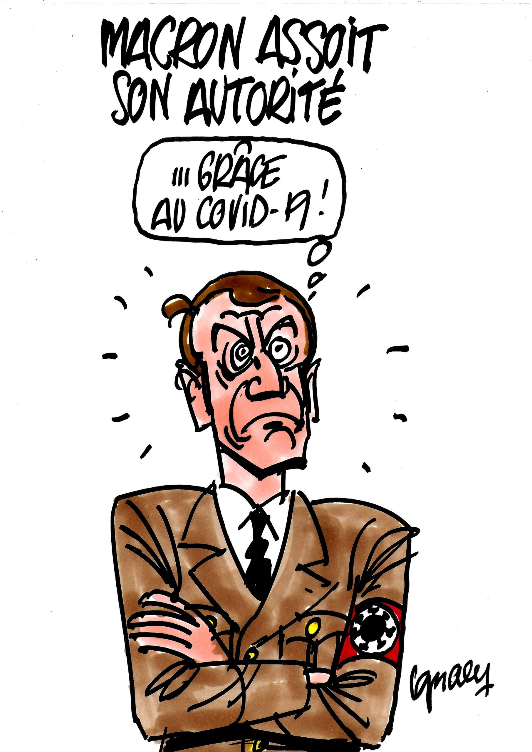 Ignace - Macron assoit son autorité
