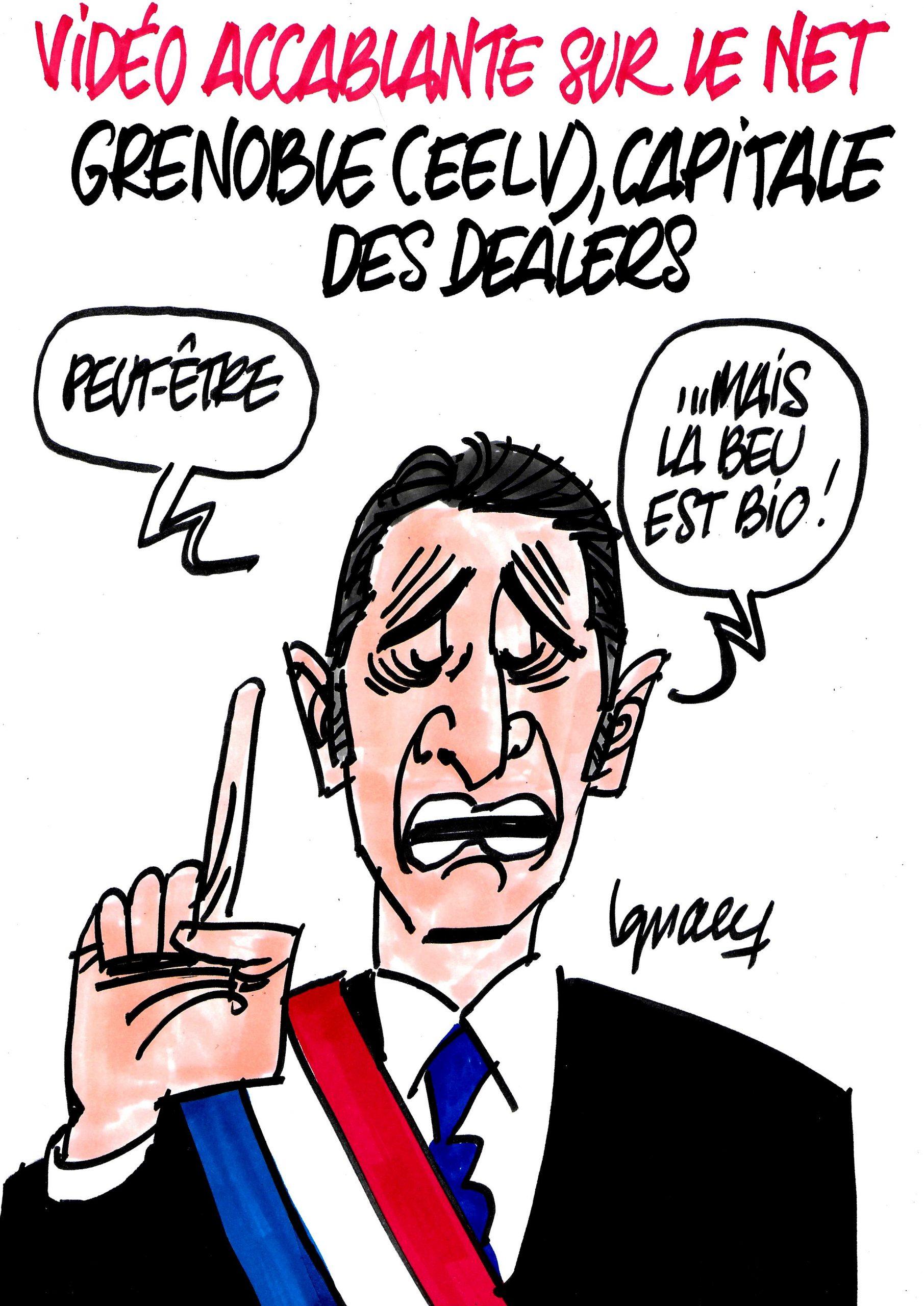 Ignace - Vidéo d'un gang de dealers à Grenoble