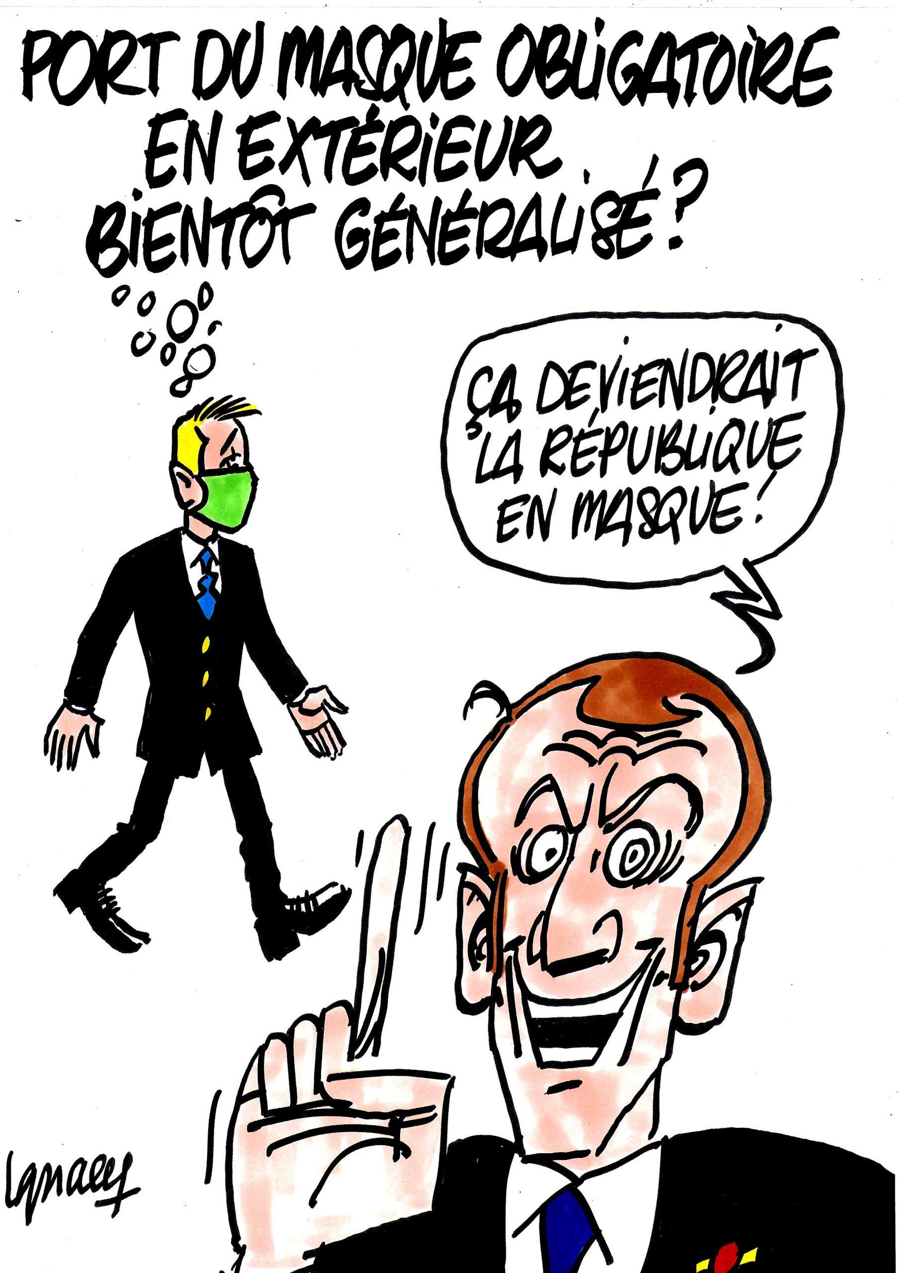 Ignace - Vers un masque obligatoire généralisé ?