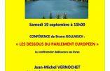19 septembre 2020 en Savoie – Conférences de Bruno Gollnisch et Jean-Michel Vernochet