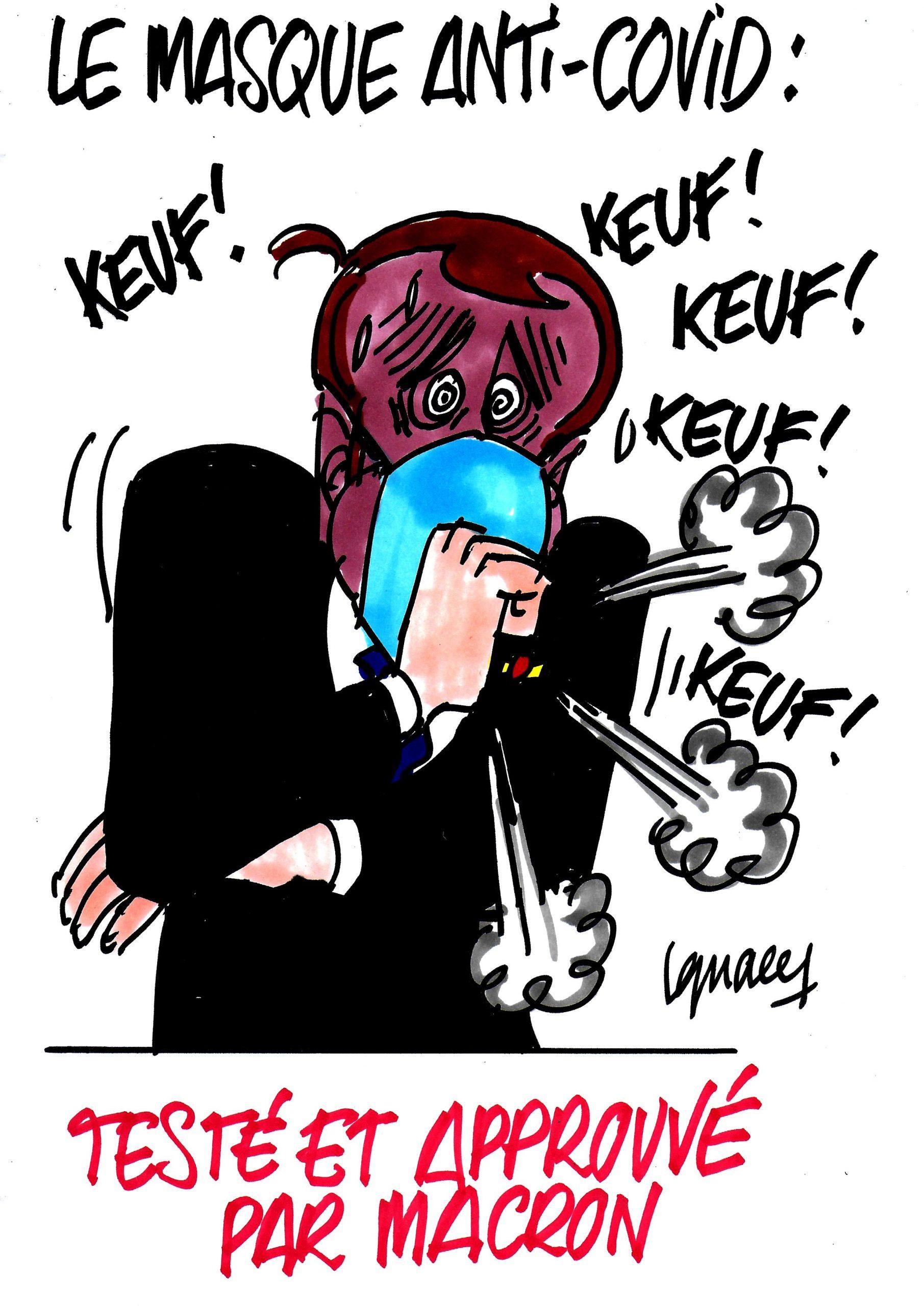 Ignace - Macron et le masque