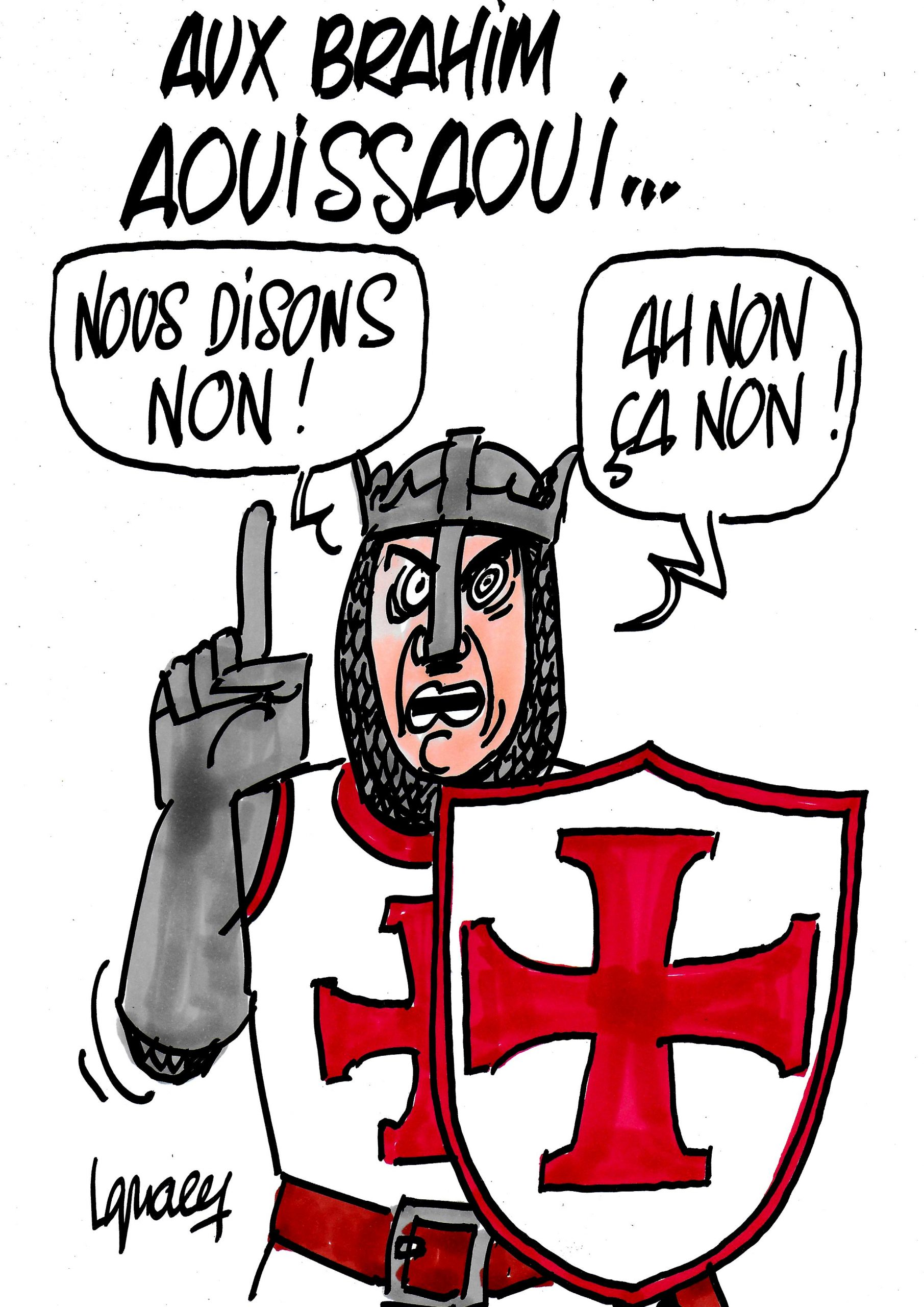 Ignace - Aux Brahim Aouissaoui...