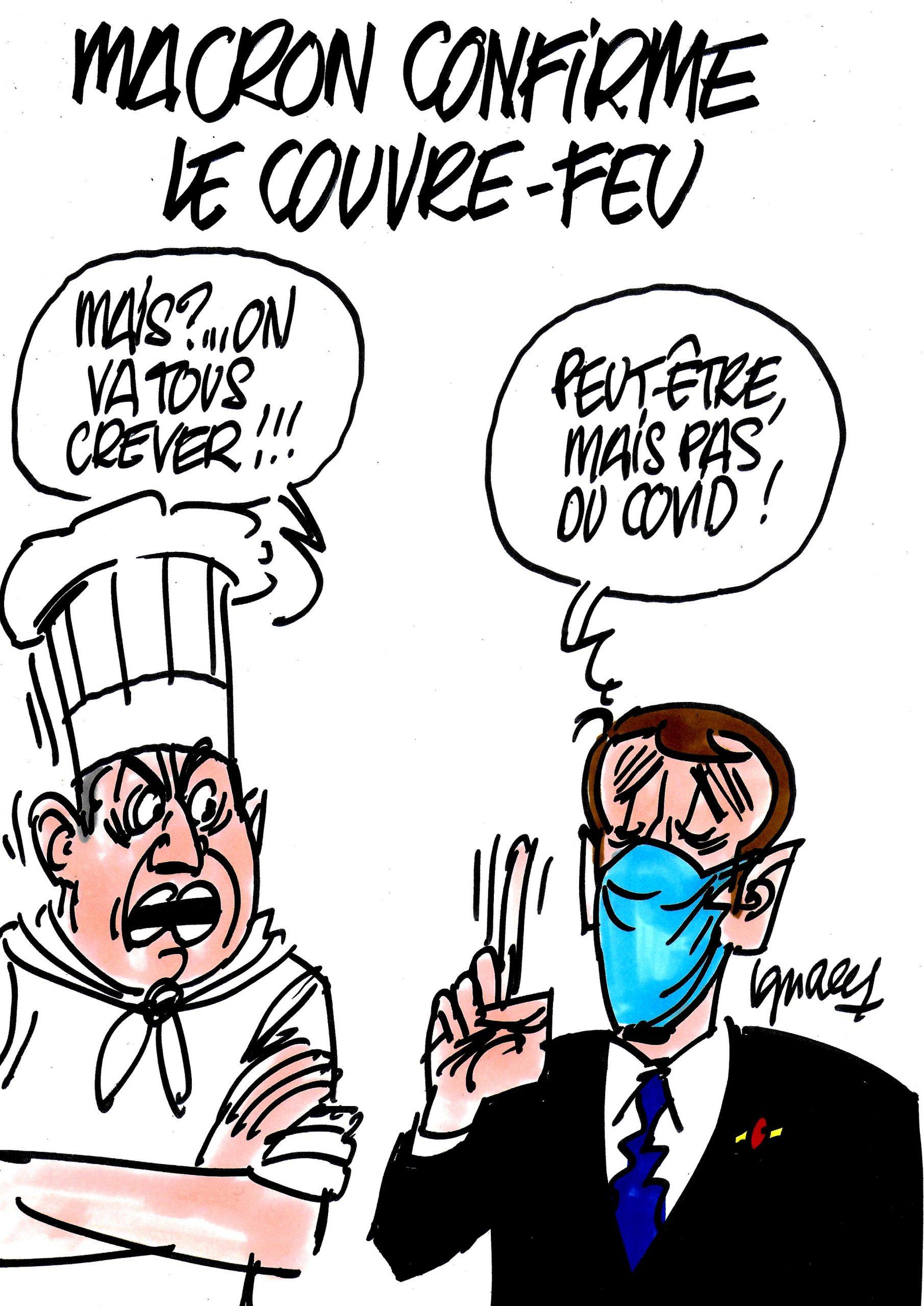 Ignace - Macron confirme le couvre-feu