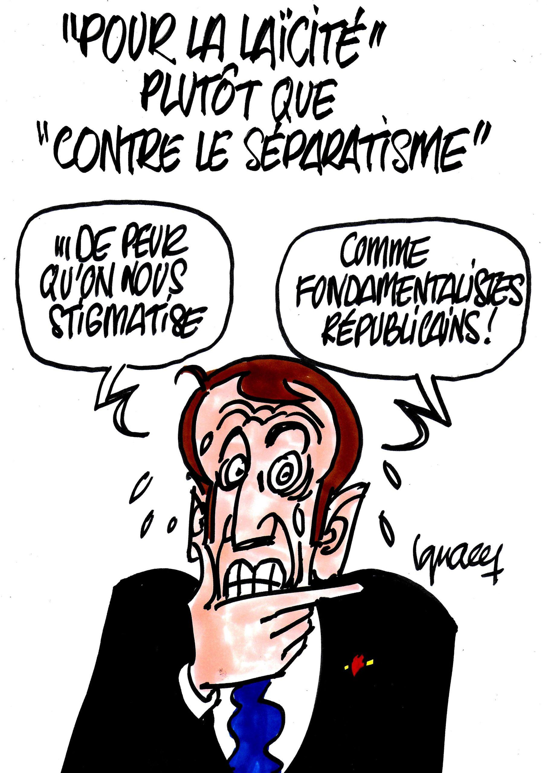 """Ignace - """"Laïcité"""" plutôt que """"séparatisme"""""""