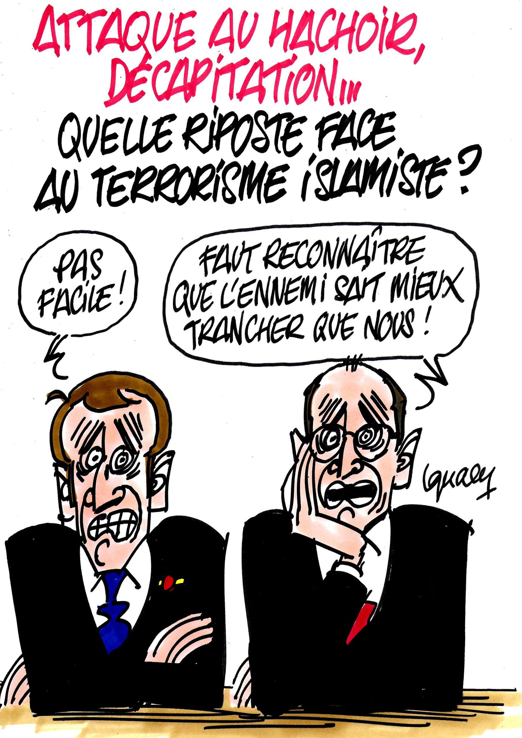 Ignace - Quelle riposte face au terrorisme islamiste ?