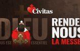 Messe à Nice : Civitas fait reculer l'Etat