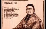 Portrait et citation du Cardinal Pie
