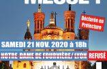 Samedi 21 novembre 2020 à 18h à Lyon – Nous voulons la Messe !