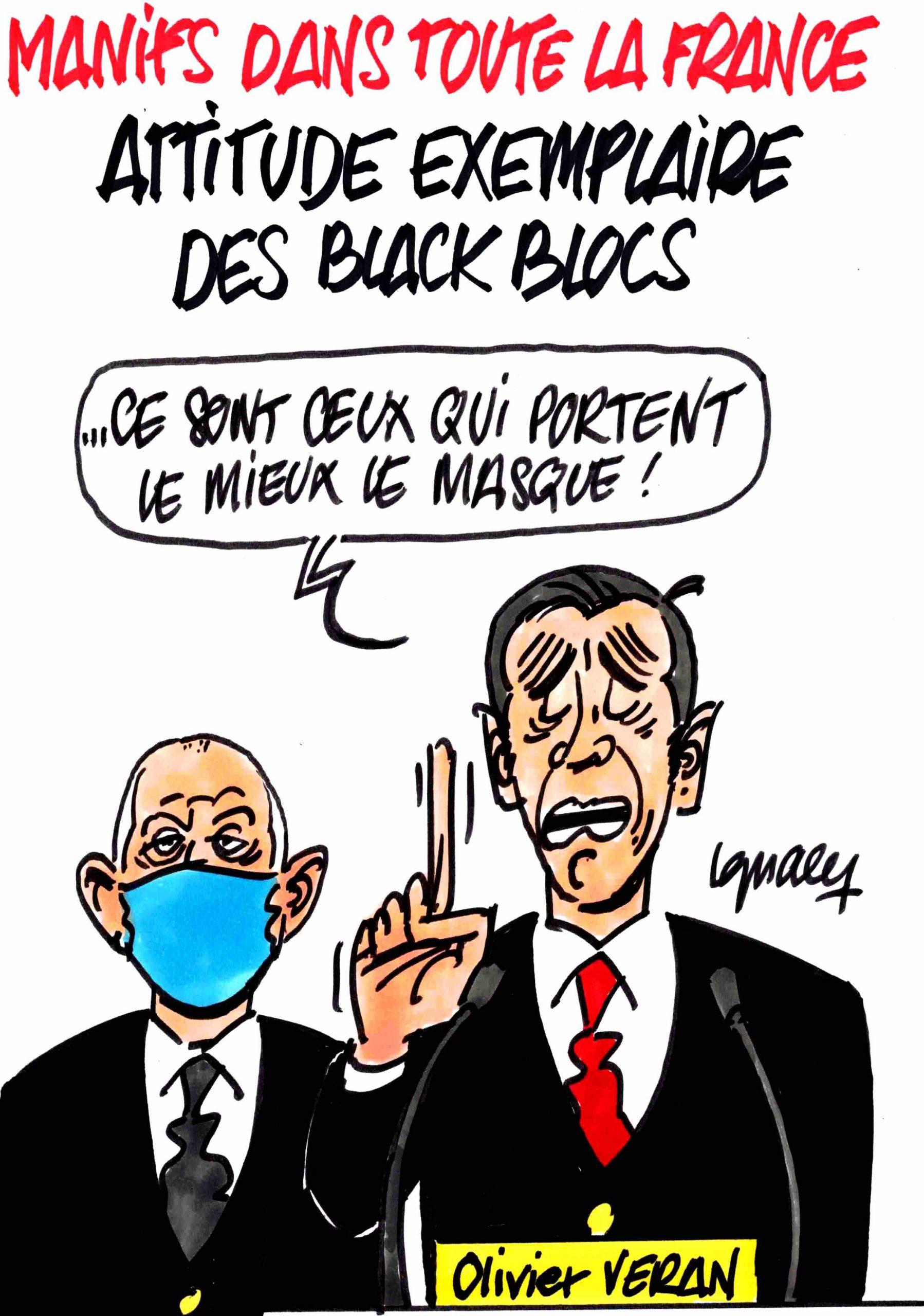 Ignace - La vertu des Black blocs