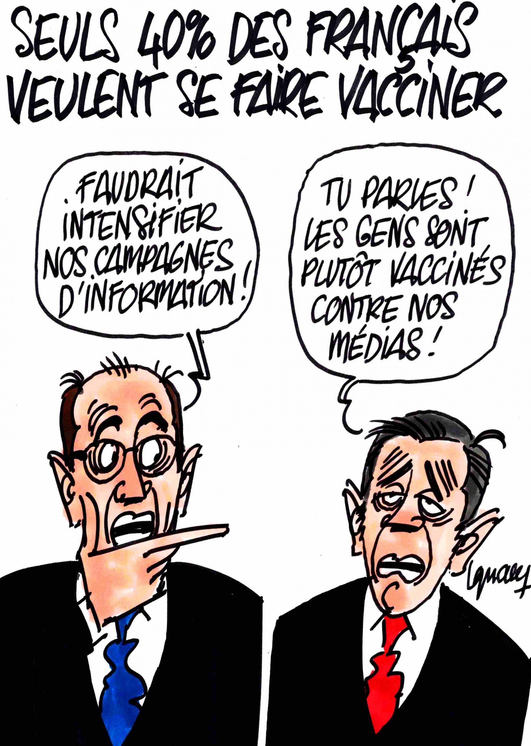 Ignace - 40% des Français prêts à se faire vacciner
