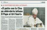 Mgr Viganò sur l'accord entre la Chine et le Vatican, nouveau signe d'apostasie