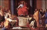 Les religions confinées au jugement de Salomon, par le R.P. Joseph d'Avallon