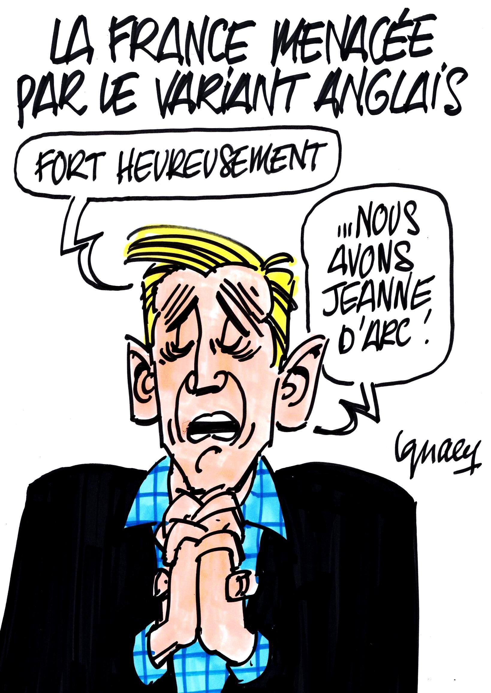 Ignace - La France menacée par le virus anglais