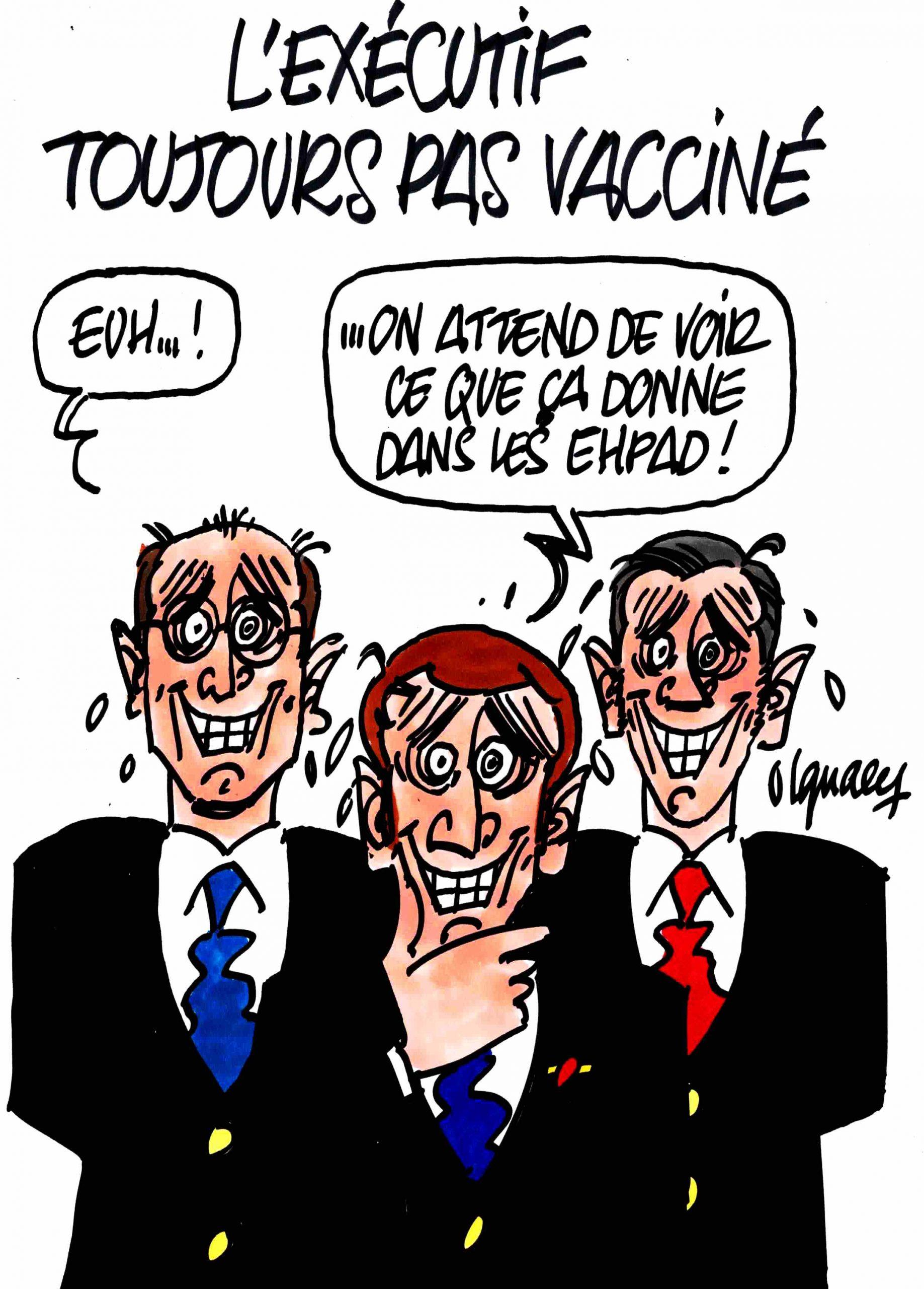 Ignace - L'exécutif toujours pas vacciné
