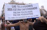 Des milliers de personnes manifestent à Madrid contre la dictature sanitaire