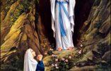 Jeudi 11 février – Apparition de la Bienheureuse Vierge Marie Immaculée à Lourdes