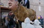 Bill Gates ciblé par un Carnaval en Croatie qui a tout compris