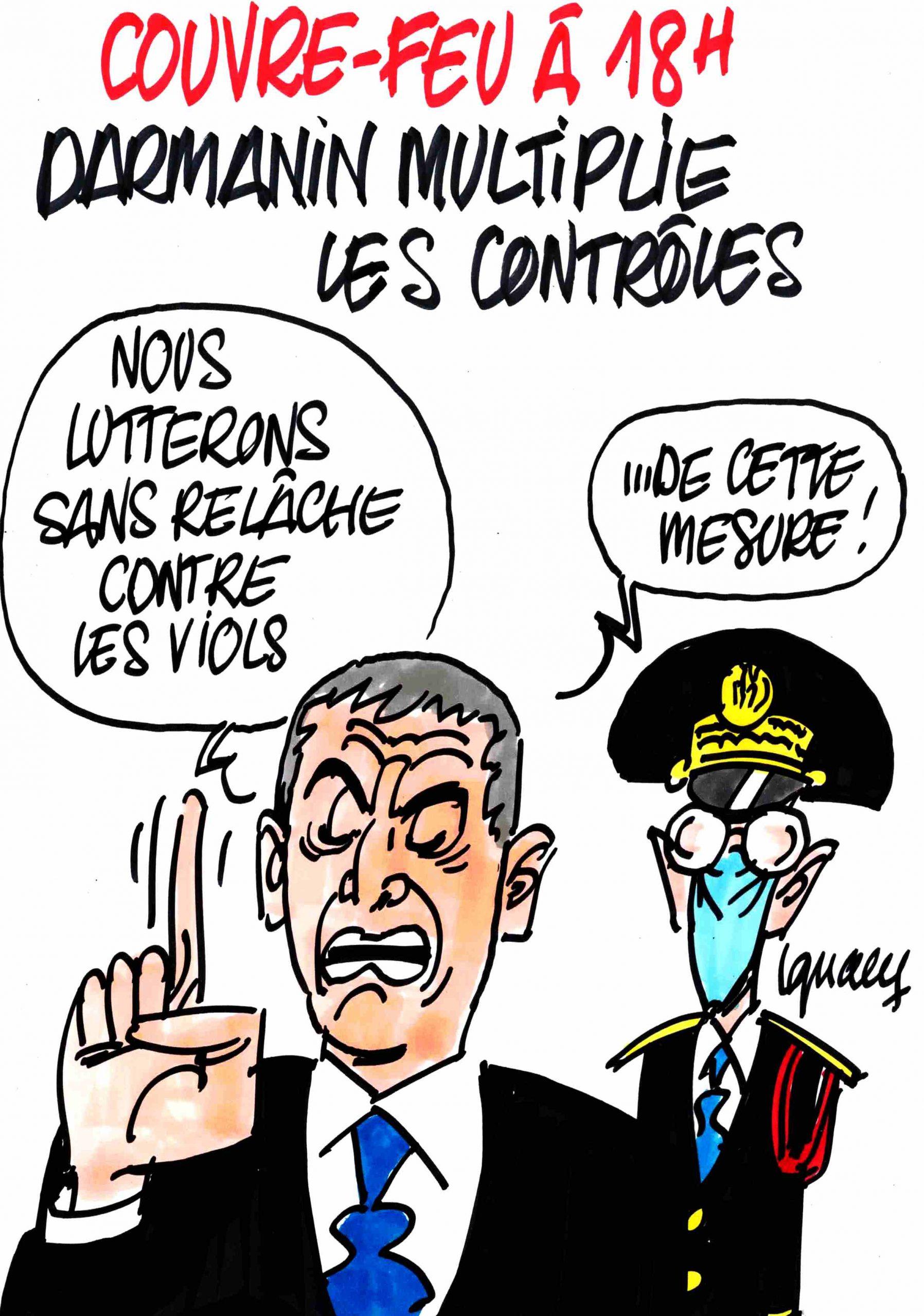 Ignace - Couvre-feu : Darmanin multiplie les contrôles