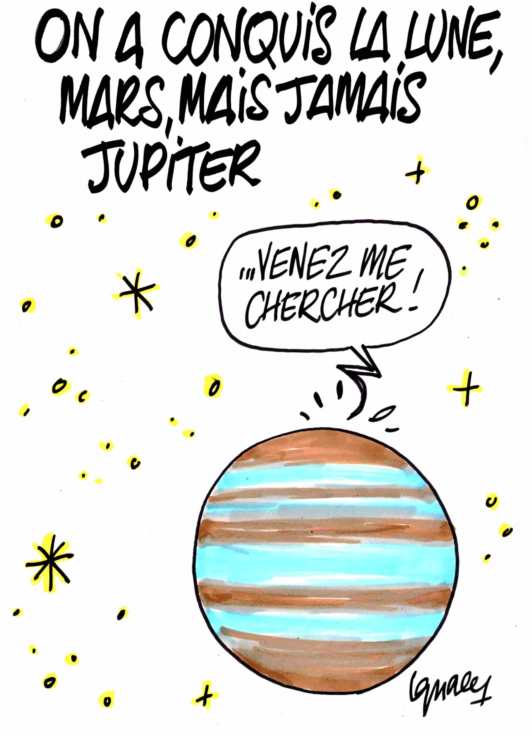Ignace - On a conquis la lune, Mars, mais jamais Jupiter