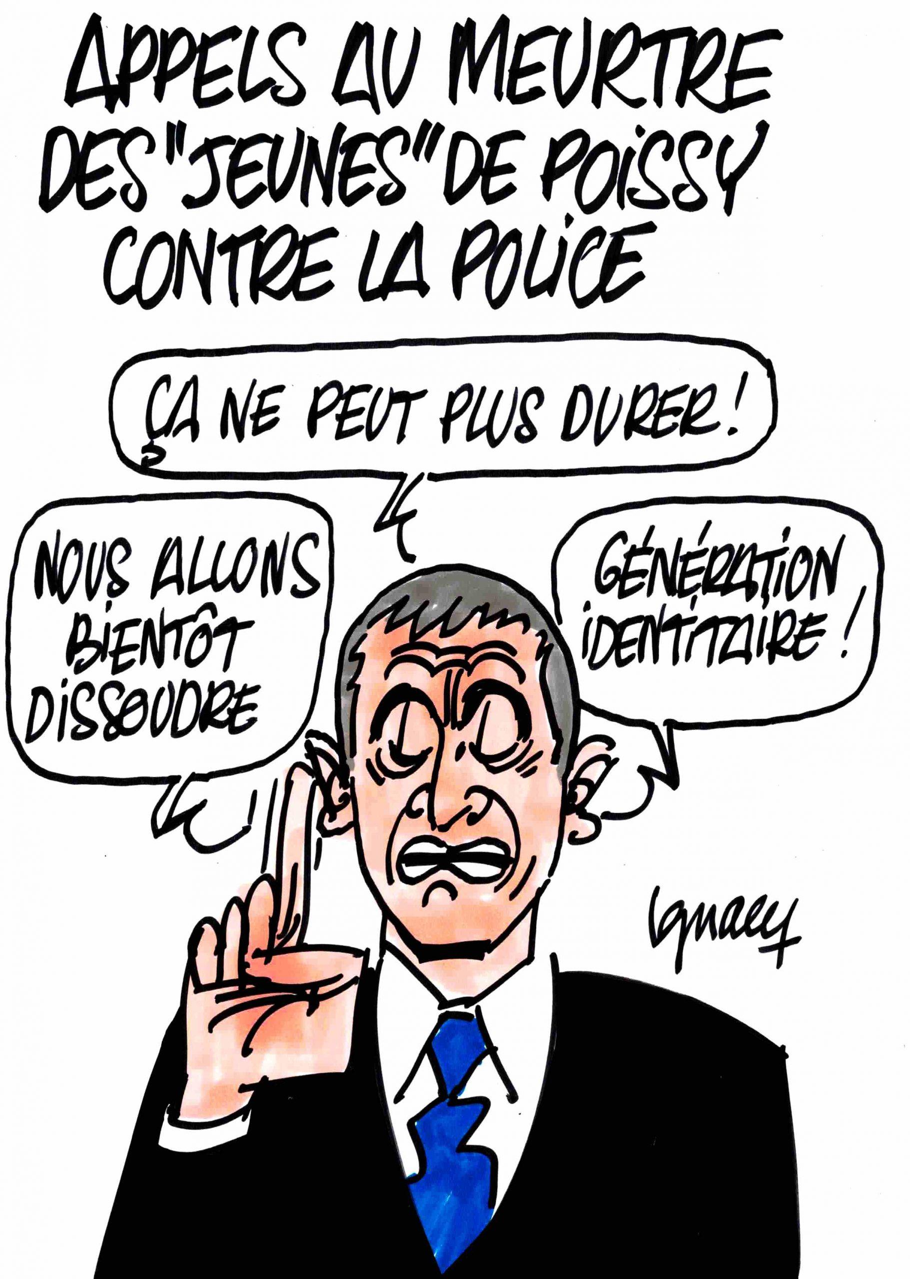 Ignace - Appels au meurtre contre la police à Poissy