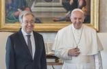 Antonio Guterres et pape François, même combat pour une gouvernance mondiale